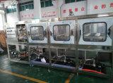 Conjunto completo de la fábrica del agua produciendo la embotelladora del agua mineral de 5 galones