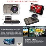 """新しく熱い3.0 """" H264の完全なHD1080p車のカムコーダーのダッシュのカメラ。 動きDVRのフォーマット、5.0メガ車のブラックボックス、6gレンズ、170degree角度DVR-3017"""