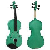 Белая скрипка музыкальной аппаратуры переклейки цвета для школы и студента нот