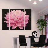 Печатание холстины цветка, печать холстины, печатание стены искусствоа 3 части