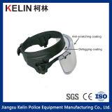 Visiera balistica materiale del casco del PC a prova di proiettile della visiera di alta qualità per protezione anteriore