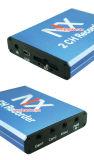 128GB SDのカード移動式DVR 2CH AVの出力DVR