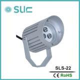 luz del punto del alto brillo LED de 9W IP65 para al aire libre