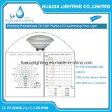 Lámpara de la natación de GR del ángulo 120 del RGB 1800lm para la piscina