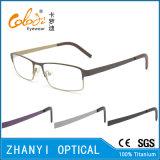 Bunter leichter Voll-Rahmen optische Glas-Rahmen-Titanbrille Eyewear (9115-EW)