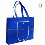 Bolso no tejido promocional del bolso de totalizador de las compras