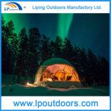 Новый рассвет придает куполообразную форму: прозрачный шатер северных светов