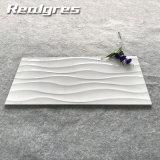 keramische glasig-glänzende Wand Tliles des Tintenstrahl-3D weiße 300X600 Dubai
