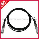 10G dirigen el cable de cobre 30AWG de Twinax de la fijación