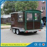 Ys-Fw450 Mobile Kitchen Van Carrito de comida rápida