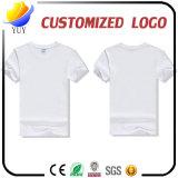 Preiswertester Preis kundenspezifisches Firmenzeichen-wahlweise freigestelltes Abbildung-Erwachsen-T-Shirt
