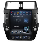 Vertikales sehr großes Versions-Auto GPS des Bildschirmandroid-5.1 mit iPod BT FM morgens ISDB für Toyota Prado 2015