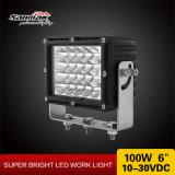 """6 """" 100Wオフロードのための高い発電LED頑丈なライト"""