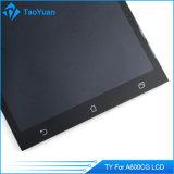Asus Zenfoneのためのタッチ画面の計数化装置アセンブリが付いている黒いLCD 6 A600cg T00g