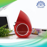 水滴携帯用FMの機能小型モバイル・コンピュータのスピーカー