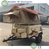 Schlussteil-Zelt für Familien-Lager und Arbeitsweg