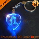 선전용 선물 또는 기념품 심혼 금속 열쇠 고리 수정같은 Keychain (YT-3271)