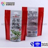 Sac/poche en plastique de mastic de colmatage de nourriture pour le casse-croûte