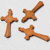 صليب [هندمد] خشبيّة, صليب دينيّ خشبيّة, صليب طبيعيّ صغيرة خشبيّة ([إيو-كو001])