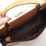 O mensageiro do couro genuíno das mulheres ensaca a bolsa da forma do ombro do saco de Crossbody