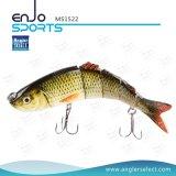 Señuelo realista articulado multi selecto de la pesca de los trastos de pesca del salto profundo del cebo de pesca del gran juego de las artes de pesca del pescador (MS1522)