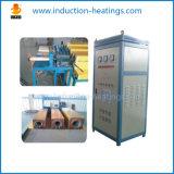 El horno de frecuencia media de la calefacción de la forja de la barra con salida ayuna