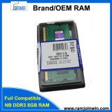 Laptop DDR3 SODIMM 8GB 204 het Geheugen van de RAM van de Speld
