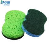 Пена целлюлозы и скруббер, очищая губка, широко используют