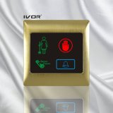 El panel al aire libre del sistema del timbre del hotel en el marco del esquema del metal (SK-dB2000S3-S)