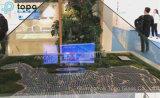 비전도성 진열장 스크린 마술 미러 유리 (S-F7)