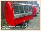 Automobile mobile dell'alimento del camion dell'alimento di Ys-FT280A da vendere con la finestra di scivolamento di vetro
