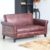 Sofà commerciale della mobilia impostato nel colore del vino per il salone (SP-KS333)