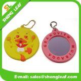 ピンクのOrrangeの緑の多彩な子供ミラーのゴム製中国語