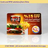 Voller Farben PVC Magnetstreifen-Karte für Discount Card
