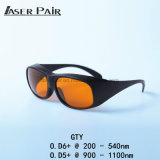 Lasersicherheits-Schutzbrille-Augen-Schutzbrillen Gty 200-532nm&900-1700nm Lasersicherheits-Gläser