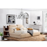 Base de sofá moderna del cuero genuino del estilo de Corea para los muebles de la sala de estar - Fb8153