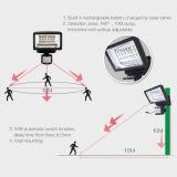 Luz Emergency recarregável solar do diodo emissor de luz com sensor de movimento