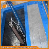 Calentamiento del horno de la capa del polvo del túnel a 400f con el transportador para la puerta del metal