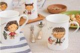 La meilleure tasse en céramique de vente de produits avec la boîte-cadeau de guichet