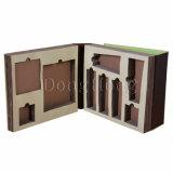 Коробка подарка ясного окна магнитная бумажная плоская складывая упаковывая