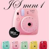 Banco móvel da potência do carregador 10000mAh do telefone do estilo da câmera mini com diodo emissor de luz