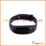 Pulseira impermeável IP67, pulseira inteligente de ritmo cardíaco dinâmico, bracelete Bluetooth V4.1
