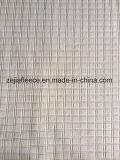 Entrada de la aguja Micro Fleece tela con Diseño Cuadrado