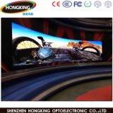 Alta visualización de pantalla a todo color de interior de la curva LED de Effcient