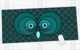 ゴム製速度のゲームの賭博のマウスパッドマウスマット大型の900*400*3mm