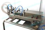 Máquina de rellenar líquida de las boquillas dobles manuales (FLL-250S)