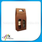 Коробка изготовленный на заказ бумажного вина высокого качества OEM упаковывая