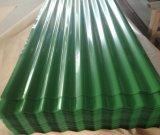 PPGI ondulado Prepainted a folha de aço revestida galvanizada da telhadura