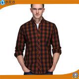Vente en gros 2017 chemises minces d'ajustement chemise occasionnelle de chemise de ressort de longue