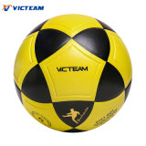 Размер 5 футбола Клуб-Уровня грубый составной кожаный